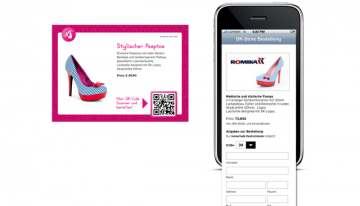 Mobile Shopping im stationären Handel: Daniela Katzenberger macht es vor