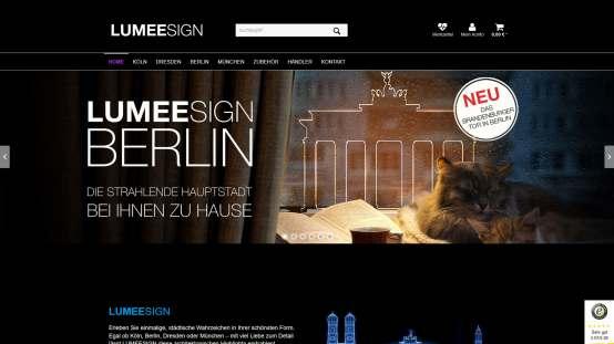 Lumeesign Website