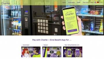 Pay with Charlie - schnell und sicher am Automaten per Handy bezahlen