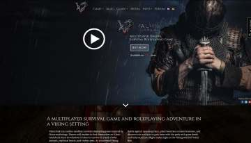 Valnir Rok GamE Website