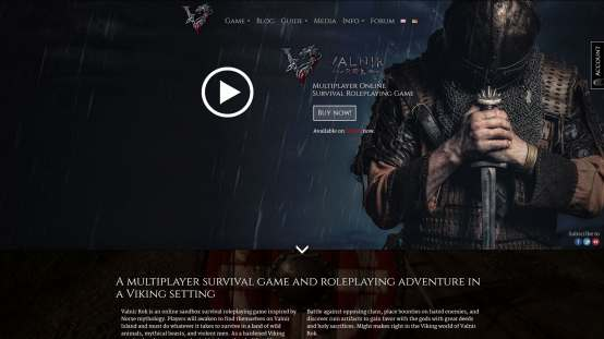 Valnir Rok Website
