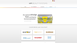 Wordpress-Website WM-Beautysystems mit Responsive Design