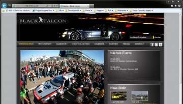 Black-Falcon.com:mit encurio Gas geben: