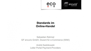 Vortrag Standards im Online-Handel (e-Commerce)