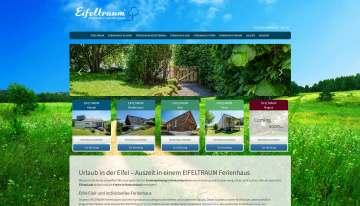 Website Facelift und Buchungssystem für Eifeltraum.de