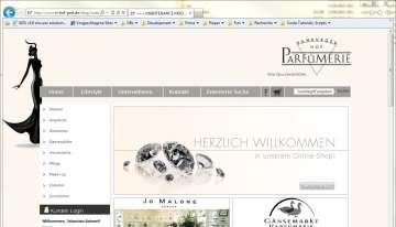 Hamburger Hof Parfümerie, die Top-Parfümerie mit Online-Shop
