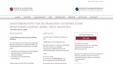 Neuer Web-Auftritt für huesch.com
