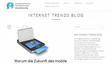 Internet Trends Blog