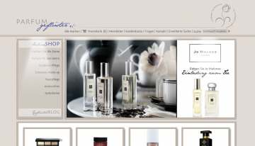 Neuer Shop inkl. Blog für Luxus-Parfums