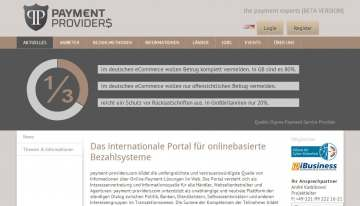 Payment Providers: Payment im Vergleich