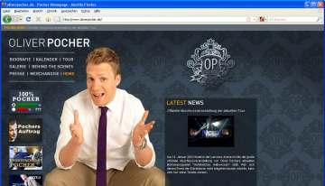 Neue Website für Oliver Pocher