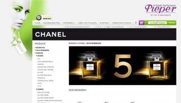 CHANEL und Co. – Unwiderstehlicher Luxus hat eine neue Adresse: www.parfuemerie-pieper.de