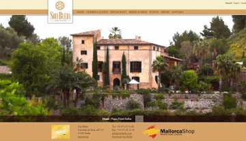 Responsive Website Son Bleda - Hotel Mallorca