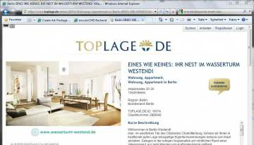 Erstes Immobilien-Portal mit Street View Toplage.de
