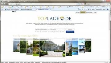 TOPLAGE.DE - neues Premium Immobilien Portal - einfach innovativ exklusiv