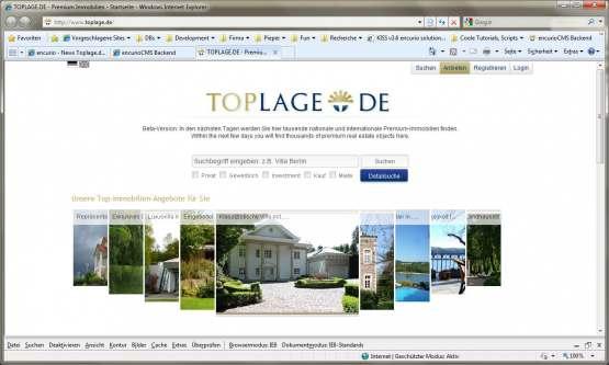 Toplage Screen