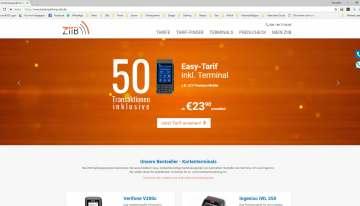 Online-Shop für Terminals zur Kartenzahlung
