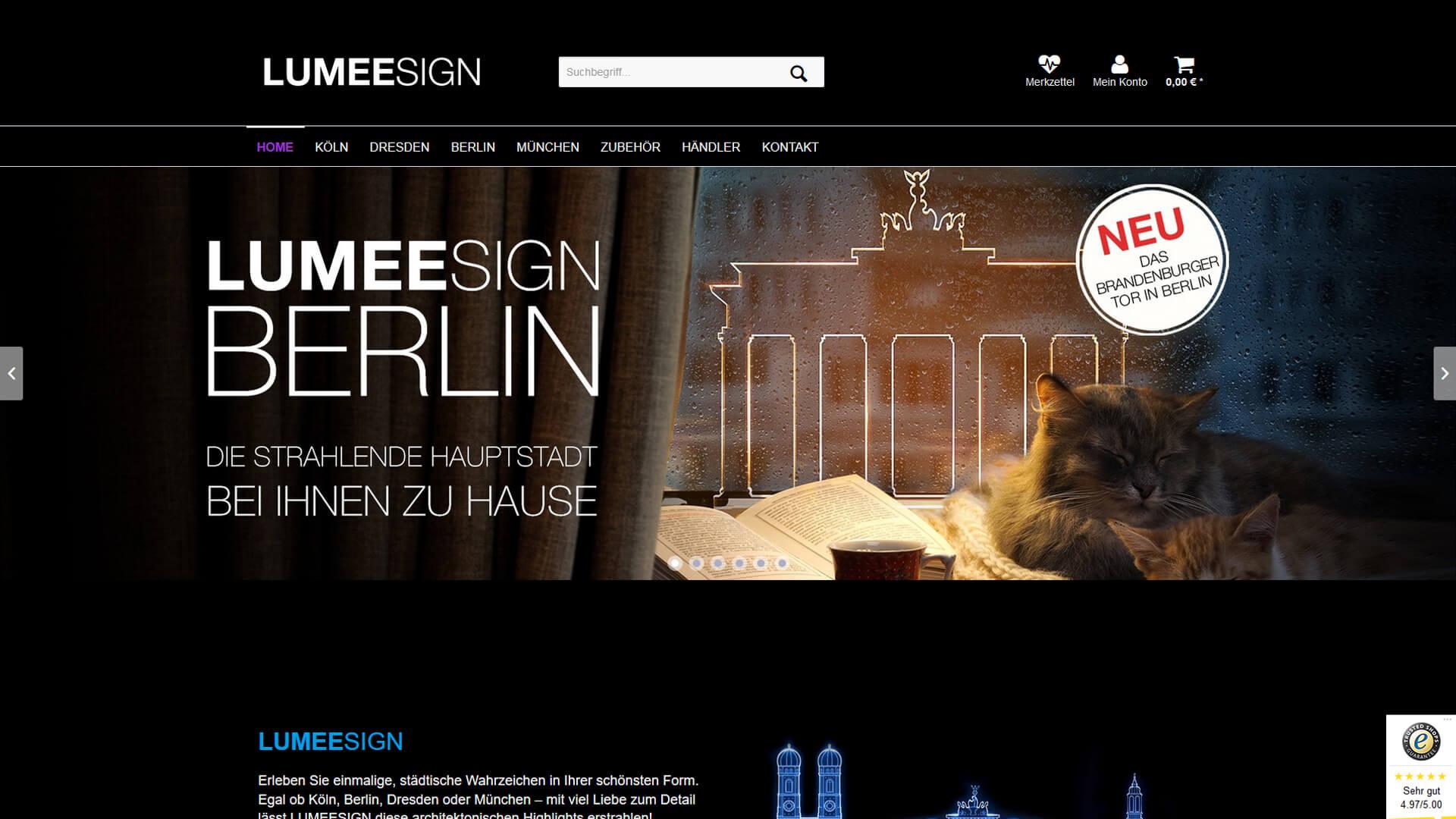 online shop f r lumeesign led lampen. Black Bedroom Furniture Sets. Home Design Ideas